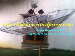 Arah ST 2 KU Band dengan Parabola 10 feet Mesh -Jaring
