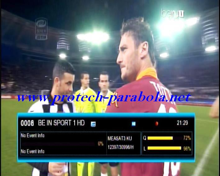 BEIN SPORT 1 HD on K VISION MEASAT KU Band