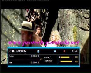 CHANNEL52 HD on Freq 4024 H 2756 @ Apstar 7  FTA test ch