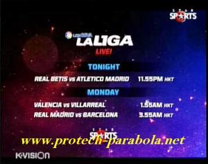 EL CLASICO - Barcelona vs Real Madrid Tayang di STAR SPORT K VISION