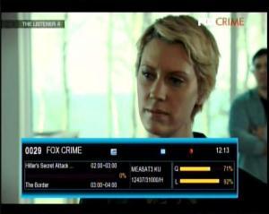 FOX CRIME on K VISION