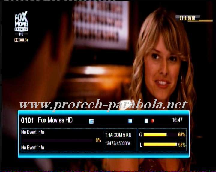 FOX MOVIES PREMIUM HD on TRUE VISION @ THAICOM 5