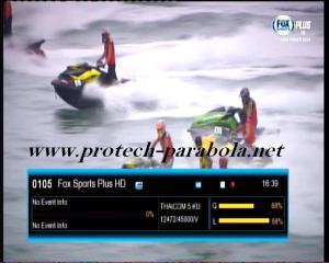 FOX SPORT PLUS HD on TRUE VISION @ THAICOM 5