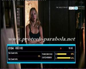 HBO HD on TRUE VISION @ THAICOM 5