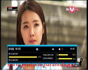 M HD on TRUE VISION @ THAICOM 5