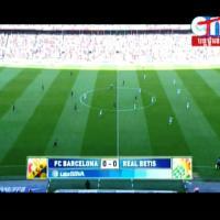 Liga Spanyol BARCELONA vs REAL BETIS - LIVE on CTN at Apstar 6