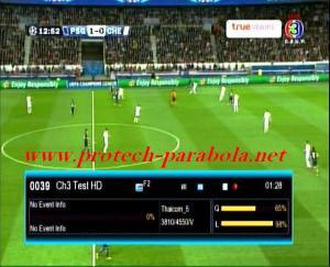 Ch Test HD Freq 3810 V 4550 @ Thaicom 5