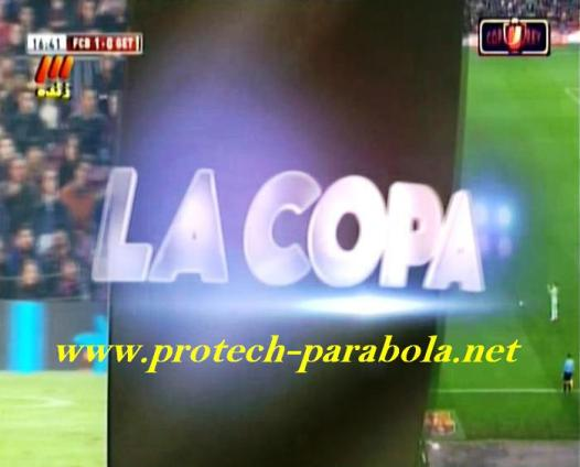 Copa Del Rey on SCC TV 3 @ ST2 Freq 3585 H 12500