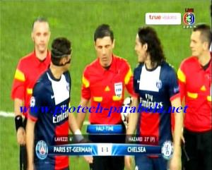 Half Time PSG 1 vs 1 CHELSEA - LIGA CHAMPION