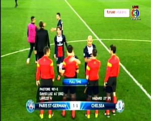 Full Time PSG 3 vs 1 CHELSEA - LIGA CHAMPION