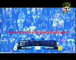 Full Time REAL MADRID 3 vs 0 BORUSSIA DORTMUND - LIGA CHAMPION