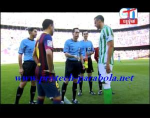 LIGA BBVA - BARCELONA vs REAL BETIS on CTN @ Apstar 6