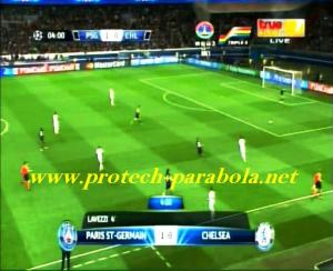 PSG 1 vs 0 CHELSEA Menit 4.