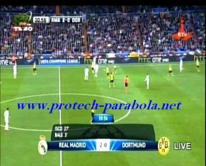 REAL MADRID 2 vs 0 BORUSSIA DORTMUND Menit 27