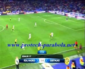 REAL MADRID 3 vs 0 BORUSSIA DORTMUND Menit 57