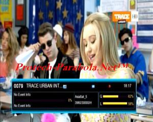 TRACE URBAN INTER HD Freq Baru 3960 H 30000 @ Asiasat 5