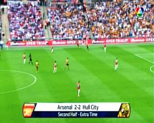 ARSENAL 2 vs 2 HULL CITY - ET -FINAL PIALA FA