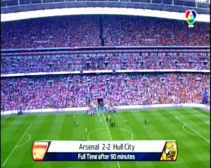 ARSENAL 2 vs 2 HULL CITY - FINAL PIALA FA