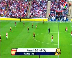ARSENAL 3 vs 2 HULL CITY - ET -FINAL PIALA FA