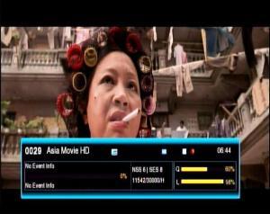 Asia Movie HD [IPM] on SES 8