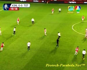 FA CUP Arsenal vs Tottenham Hotspurs BBTV 7 Thaicom 5
