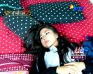 Foto Bayla sedang tidur GGS SCTV
