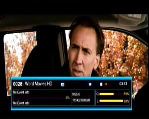 World Movies HD [IPM] on SES 8