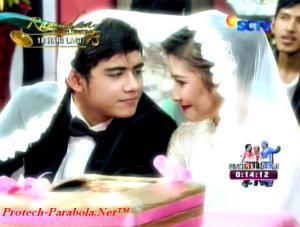 Foto Pernikahan Aliando dan Prilly Ganteng Ganteng Serigala Eps 54-3