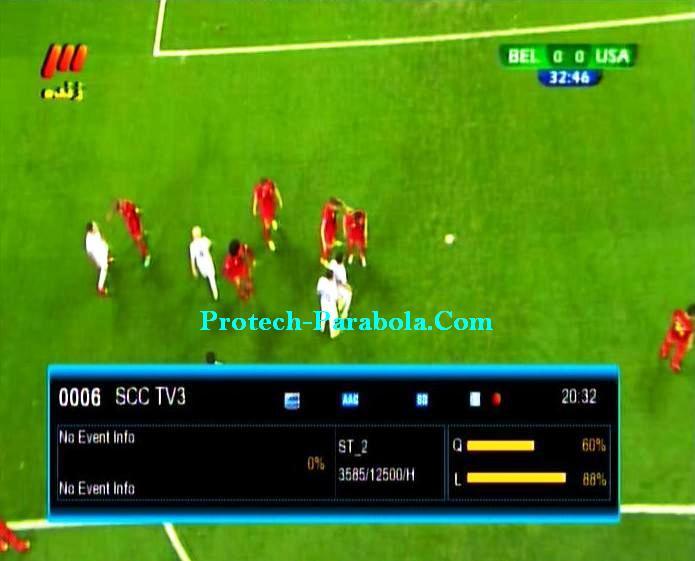 SCC TV3 [Biss Key] on ST2