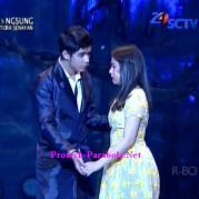Foto Romantis Aliando dan Prilly GGS LIVE SCTV