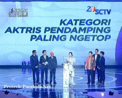 Dahlia Poland Pemenang SCTV Award 2014 Kategori Artis Pedamping Paling Ngetop