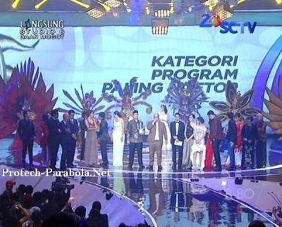 Ganteng Ganteng Serigala Pemenang SCTV Award 2014 Kategori Program Paling Ngetop