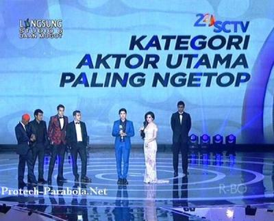 Aliando Syarief Pemenang SCTV Award 2014 Kategori Aktor Utama Paling Ngetop