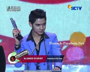Kategori Celebrity Of The Year  Aliando Syarief