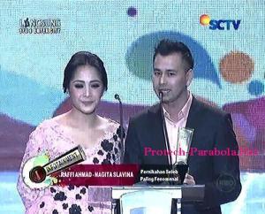 Kategori Pernikahan Selebriti Paling Fenomenal  Raffi Ahmad dan Nagita Slavina