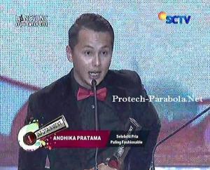 Kategori Selebriti Pria Paling Fashionable  Andika Pratama