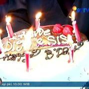 Kue Anniversary Digo dan Sisi GGS