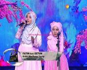 Fatin dan Getun Liputan Awards 2015