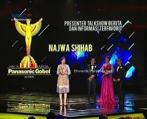 Kategori Presenter Talkshow Berita dan Informasi Najwa Shihab