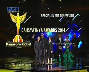 Kategori Special Event Dahsyatnya Awards 2014 [RCTI]