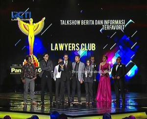 Kategori Talkshow Berita dan Informasi Lawyers Club