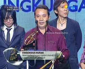 Pemenang Kategori Lingkungan Hidup Vinsensius Nurak
