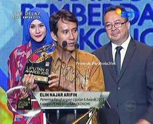 Pemenang Kategori Pemberdayaan Ekonomi Elin Najar Arifin