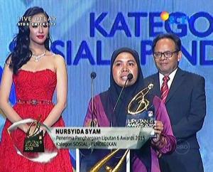 Pemenang Kategori Sosial-Pendidikan Nursyida Syam
