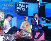 Prilly dan Aliando Liputan 6 Award 2015