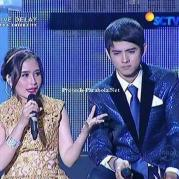 Prilly dan Aliando Liputan 6 Awards 2015