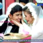 Foto Pernikahan Aliando dan Prilly