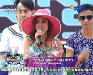 Pemenang Kategori Lagu Dangdut Paling INBOX Cita Citata [Goyang Dumang]