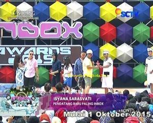 Pemenang Kategori Pendatang Baru Paling INBOX Isyana Sarasvati