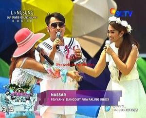 Pemenang Kategori Penyanyi Dangdut Pria Paling INBOX Nassar